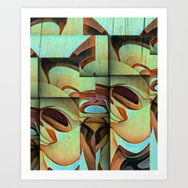 The Moderns Art Print