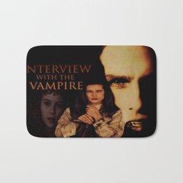 Vampires Interview Bath Mat