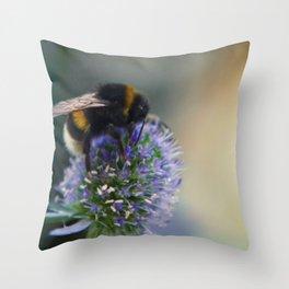 Buzz fine art photography Throw Pillow