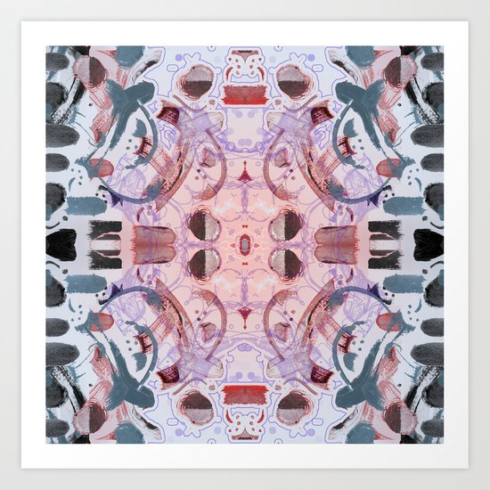 Cathedral Deconstructed Art Print