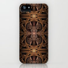 Steampunk Engine Abstract Fractal Art iPhone (5, 5s) Slim Case