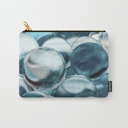 Blue Water Marbles Carry-All Pouch