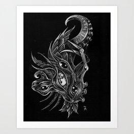 BioMorph-1 Art Print