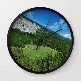 lone house Wall Clock