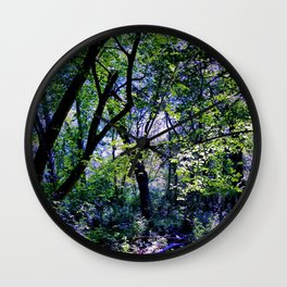 Pleasure of the Pathless Woods Wall Clock