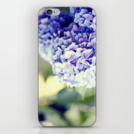 Purple Hydrangeas iPhone Skin