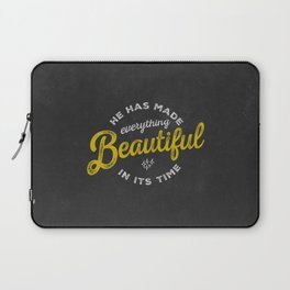 BEAUTIFUL IN TIME Laptop Sleeve