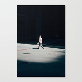Art of The Stride  Canvas Print