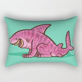 Cheshire Shark Rectangular Pillow