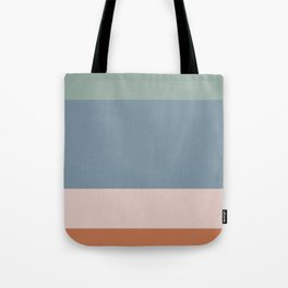 Contemporary Color Block XI Tote Bag