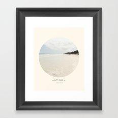 Need the sea  Framed Art Print