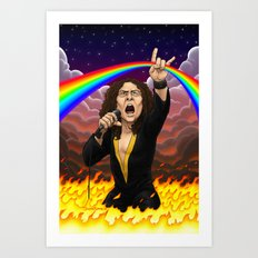 Ronnie James Dio Art Print