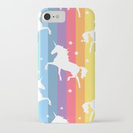 Rainbow Unicorns iPhone Case