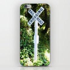 Korbel Rail Road Crossing iPhone & iPod Skin