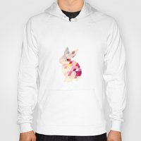 bunny Hoodies featuring Bunny by Dnzsea