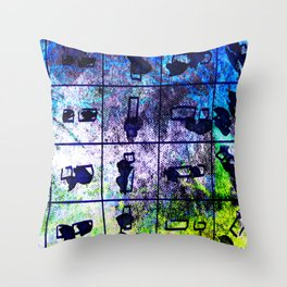 object matchsticks Throw Pillow