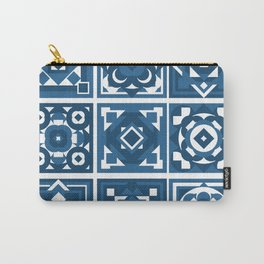little blue tiles Carry-All Pouch