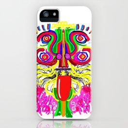 Maya lion iPhone Case