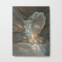I had a dream, Abstract Fractal Art Metal Print