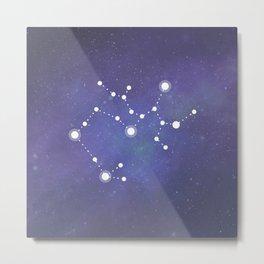 Sagittarius Star Metal Print