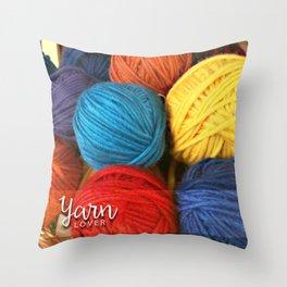 Yarn Lover Pillow Throw Pillow