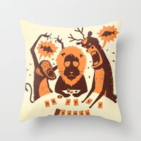 poker Throw Pillows featuring Holdem Poker by Bakal Evgeny