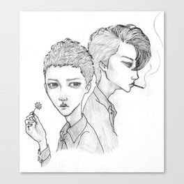 Anterograde Tomorrow Canvas Print