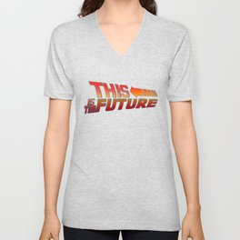 THIS IS THE FUTURE Unisex V-Neck