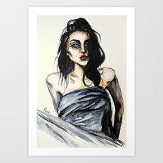 Frances bean no,4 Art Print