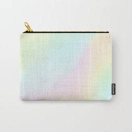 Pale Pastel Abstract Design Carry-All Pouch