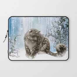 Wonderful snowleopard Laptop Sleeve
