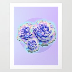 cyber_flowerz Art Print