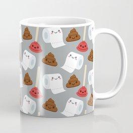 Toilet pattern Coffee Mug