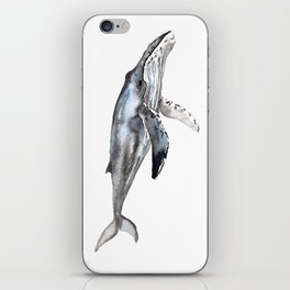 Humpback Whale iPhone Skin