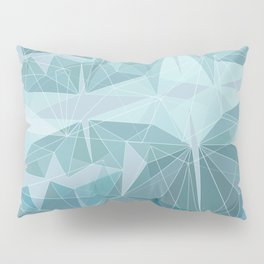 Winter geometric style - minimalist Pillow Sham