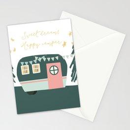 Little Camper - Jade Stationery Cards