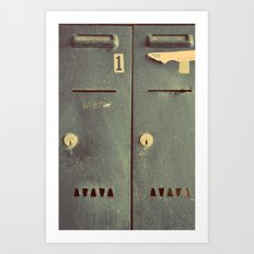 Letters for you Art Print