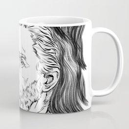 Van Gogh in black Coffee Mug