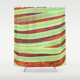 Modern Christmas Shower Curtain