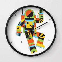 Hello Spaceman Wall Clock