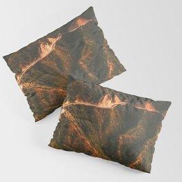 Lofty Mountains. Pillow Sham