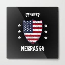 Fremont Nebraska Metal Print