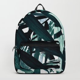 Inside of Palm Trees Backpack