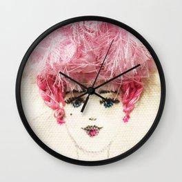 Victorian Lady Wall Clock