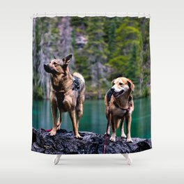 Grassi Lakes Shower Curtain