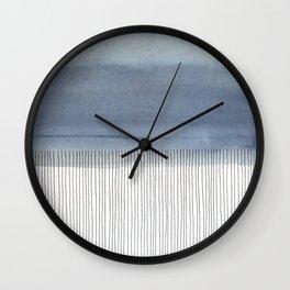 It Looks Like Rain Wall Clock