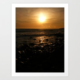 Spring Time Sunset Art Print