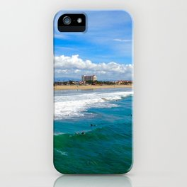 Huntington Beach Surfers iPhone Case