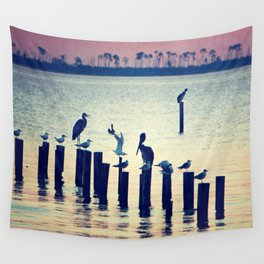 Evening Peace Wall Tapestry