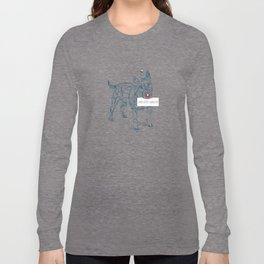complicated character Long Sleeve T-shirt